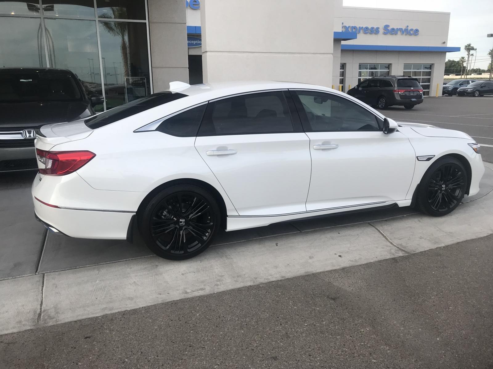 Black Rims On White Touring Model 2018 Honda Accord Forum